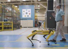 ¿Por qué Ford está utilizando robots con forma de perro?